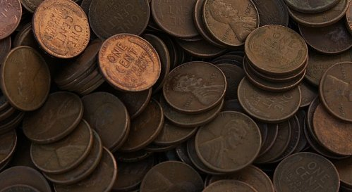 Unsearched Wheat Cents 10 Pounds