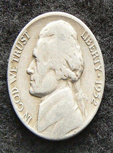 1952 P Jefferson Nickel (G-4)