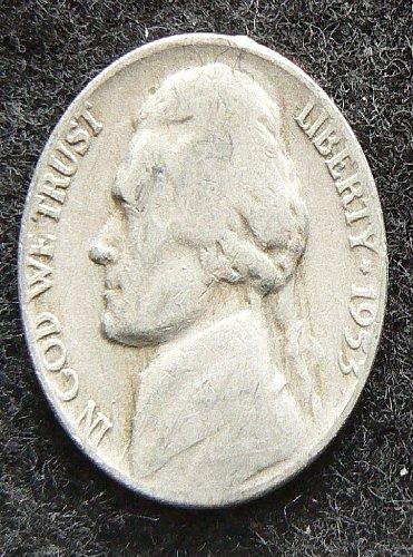 1953 P Jefferson Nickel (G-4)