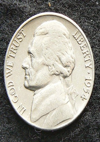 1954 D Jefferson Nickel (VG-8)