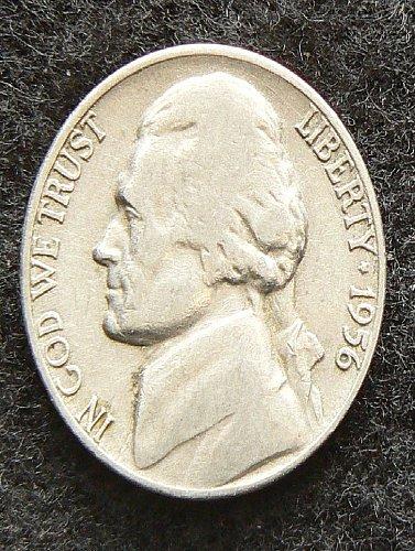 1956 D Jefferson Nickel (VG-8)