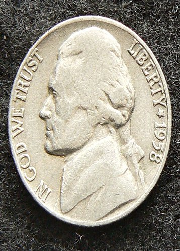 1958 D Jefferson Nickel (G-4)