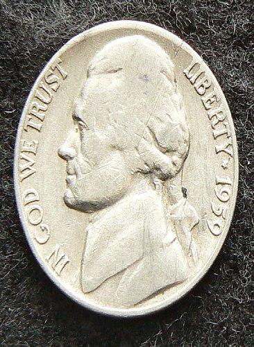 1959 D Jefferson Nickel (G-4)
