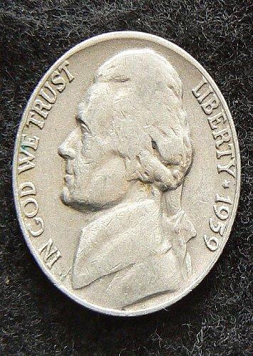 1959 D Jefferson Nickel (VG-8)