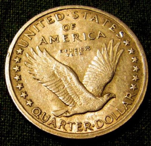 1917 Type 1 P Standing Liberty QuarterBU-Special 48 hr. sale ONLY!! A-06
