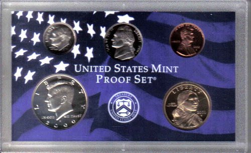 5 PIECE  --  2000  S  PROOF SET