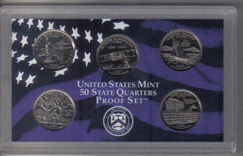 2001 S  STATE QUARTERS  PROOF SET