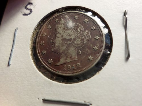 1912 S Liberty Nickels A1