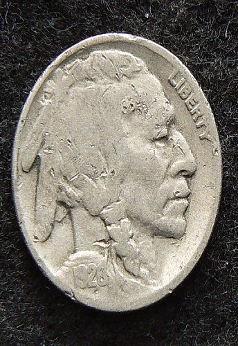 1928 P Buffalo Nickel (VG-8) dam