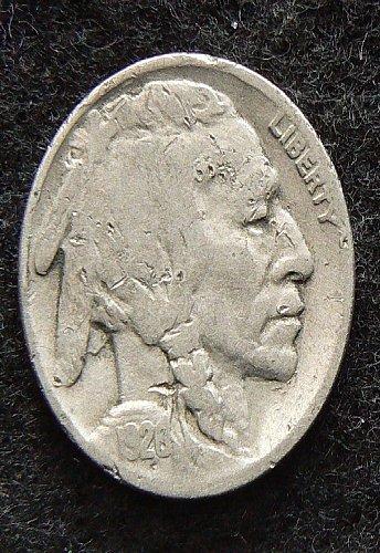 1928 P Buffalo Nickel (VG-8) dam