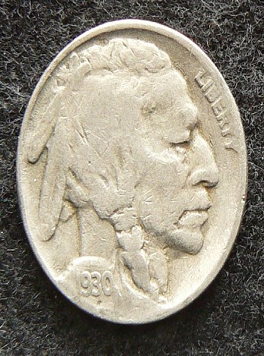 1930 S Buffalo Nickel (VG-8)