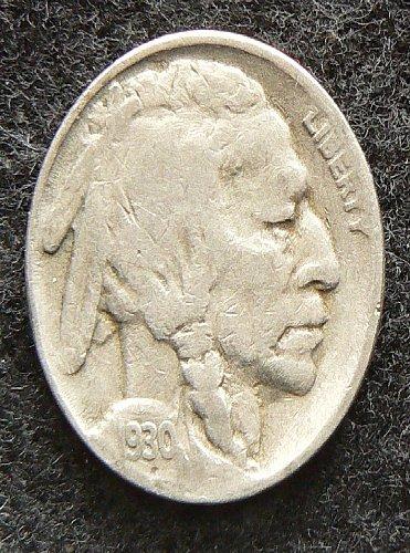 1930 S Buffalo Nickel (VG-8)