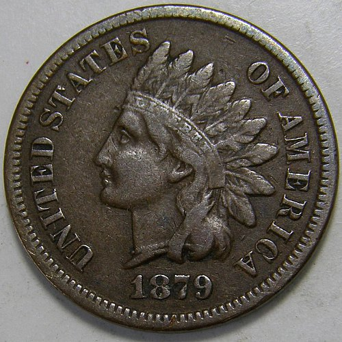 1879 P Indian Head Cent #9