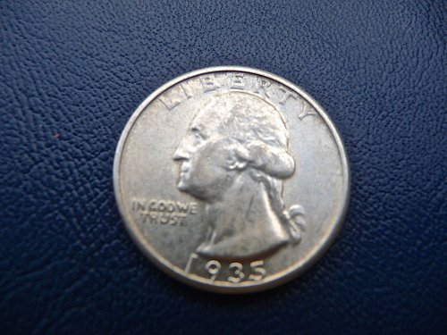 1935 Washington Quarter