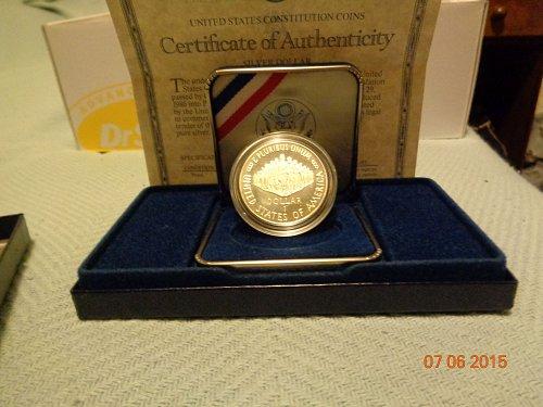 1987 CONSTITUTION DOLLAR