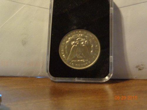 1896o Morgan Dollar B/U