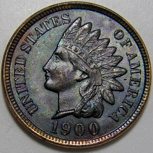 1900 P INDIAN HEAD CENT #6