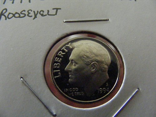 1994-S Roosevelt Proof Dime