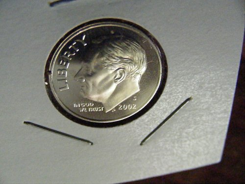 2002 S PROOF Roosevelt Copper Nickel Clad Dime