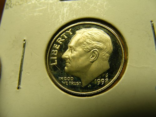 1998 S Roosevelt Proof Dime