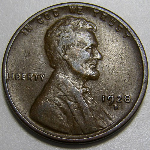 1928 D Lincoln Wheat Cent #5