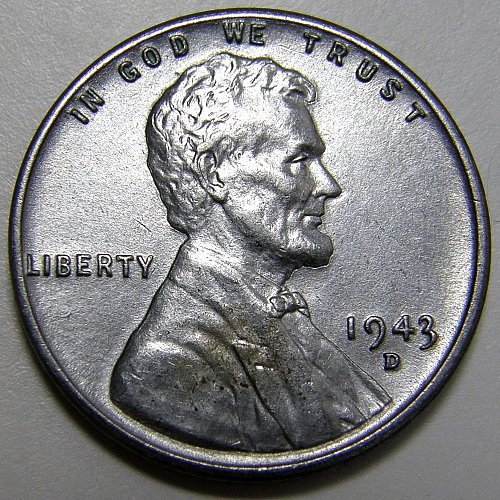 1943 D Lincoln Wheat Cent #7