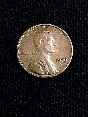 1970-S Penny Small Date High 7 Nice Circulated Lincoln Cent