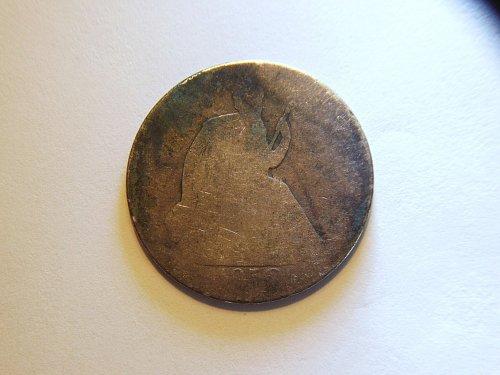 1859-O Seated Liberty Silver Half Dollar