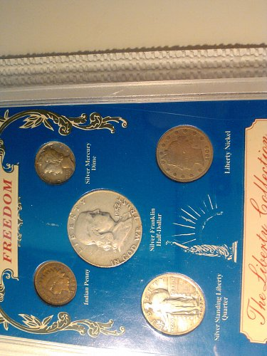 SYMBOLS OF AMERICAN FREEDOM COIN SET