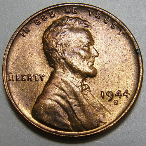 1944 S Lincoln Wheat Cent #3
