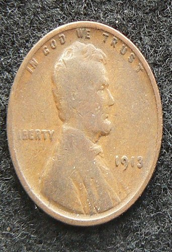 1913 P Lincoln Wheat Cent (G-4)
