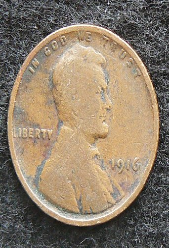 1916 P Lincoln Wheat Cent (G-4)