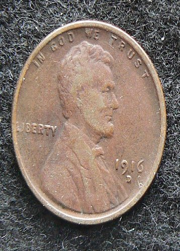 1916 D Lincoln Wheat Cent (VG-8)
