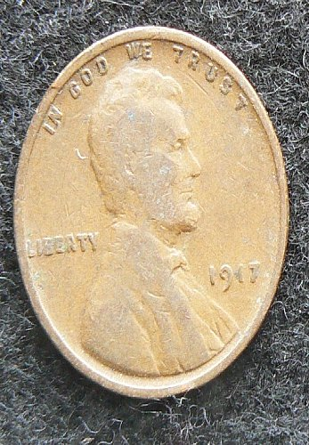 1917 P Lincoln Wheat Cent (G-4)