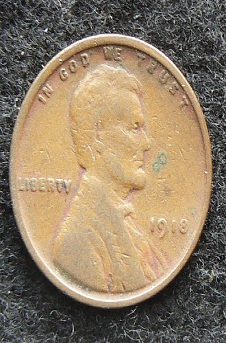 1918 P Lincoln Wheat Cent (VG-8)