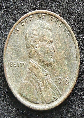 1919 P Lincoln Wheat Cent (EF-40)