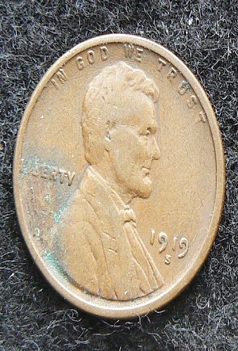 1919 S Lincoln Wheat Cent (VG-8)