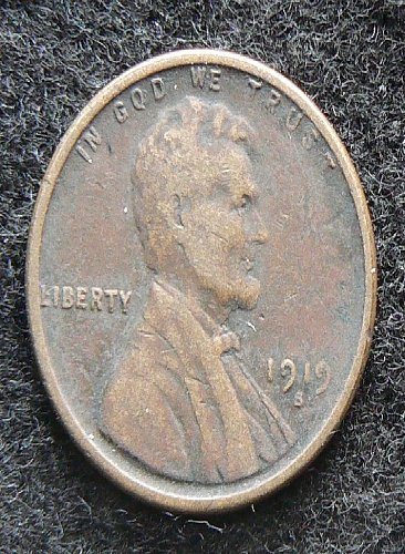 1919 S Lincoln Wheat Cent (VF-20)
