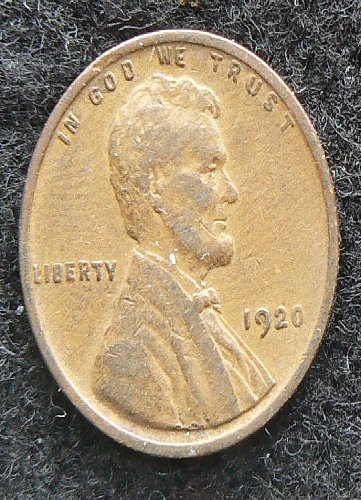 1920 P Lincoln Wheat Cent (VF-20)