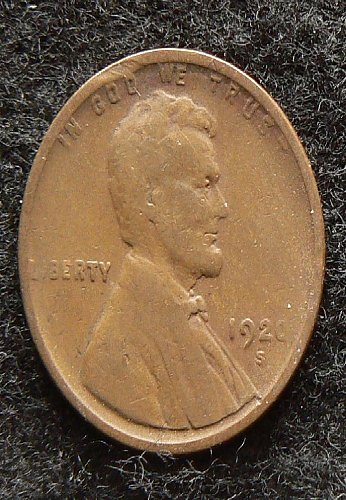 1920 S Lincoln Wheat Cent (F-12)