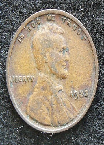 1923 P Lincoln Wheat Cent (F-12)