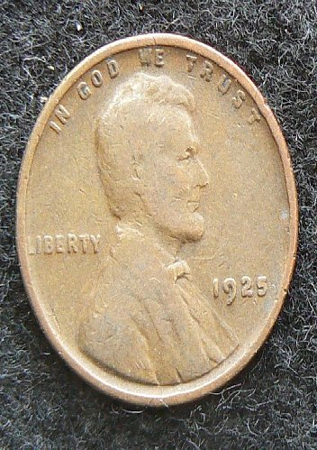 1925 P Lincoln Wheat Cent (G-4)