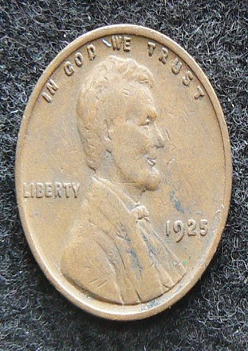 1925 P Lincoln Wheat Cent (VF-20)