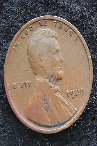 1920 P Lincoln Wheat Cent (VG-8)