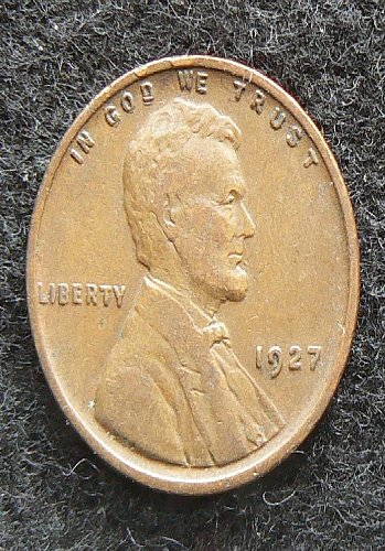 1927 P Lincoln Wheat Cent (VF-20)