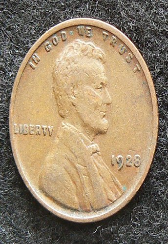 1928 P Lincoln Wheat Cent (VF-30)