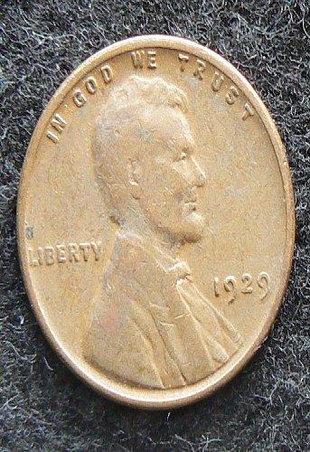 1929 P Lincoln Wheat Cent (VF-20)