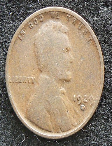 1929 D Lincoln Wheat Cent (VG-8)