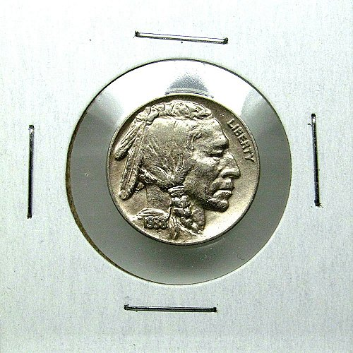 1938 D Buffalo Nickel - BU