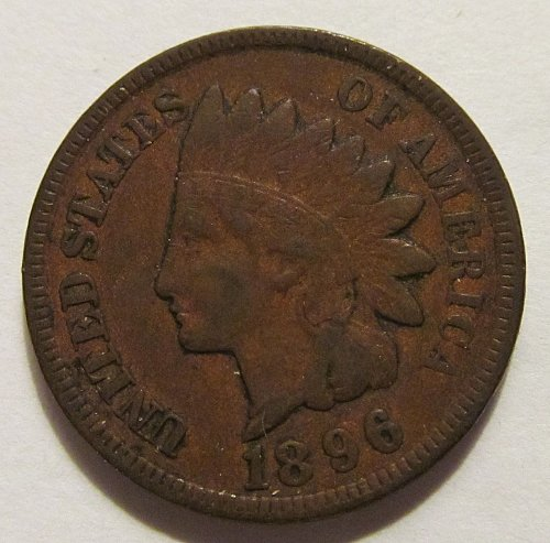 1896 Indian Head cent